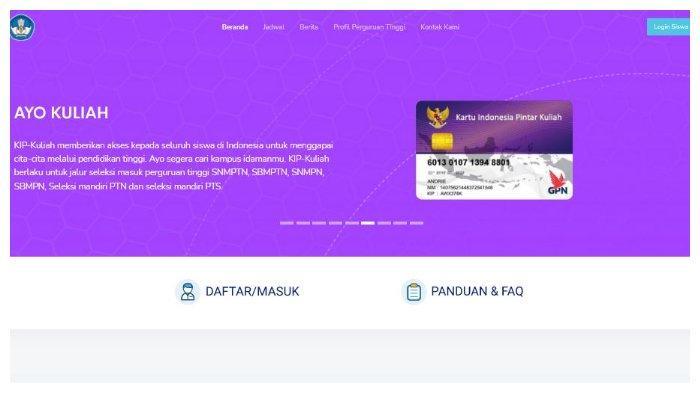 Segera Daftar KIP Kuliah 2021 Melalui kip-kuliah.kemdikbud.go.id, Berikut 3 Syarat Pendaftarannya
