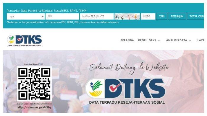 AKSES dtks.kemensos.go.id, untuk Cek Penerima Bansos Tunai Rp 300 Ribu, Cair sampai April 2021