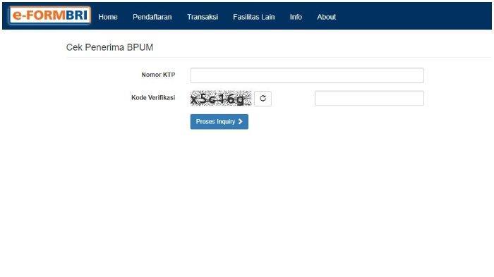 LOGIN Eform.bri.co.id/bpum untuk Cek Bantuan UMKM Rp 1,2 Juta Secara Online, Ikuti Cara Berikut