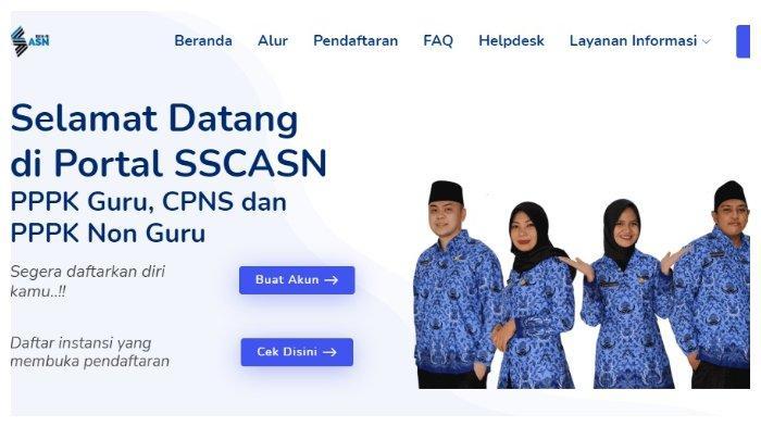 Cara Cek Hasil Seleksi Administrasi CPNS 2021 di sscasn.bkn.go.id: Masukkan NIK