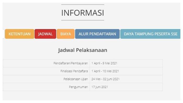 Halaman website um-ptkin.ac.id.