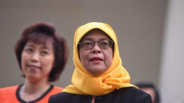 Presiden Halimah Terpilih Tanpa Pemungutan Suara, Warga Singapura Berencana Unjuk Rasa