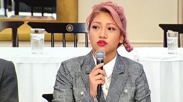 Hana Kimura, pegulat profesional Jepang yang meninggal 23 Mei 2020 dalam usia 22 tahun.