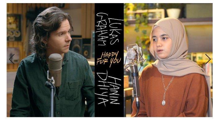 Duet Hanin Dhiya dengan Lukas Graham Lewat Lagu Happy For You, Ini Liriknya