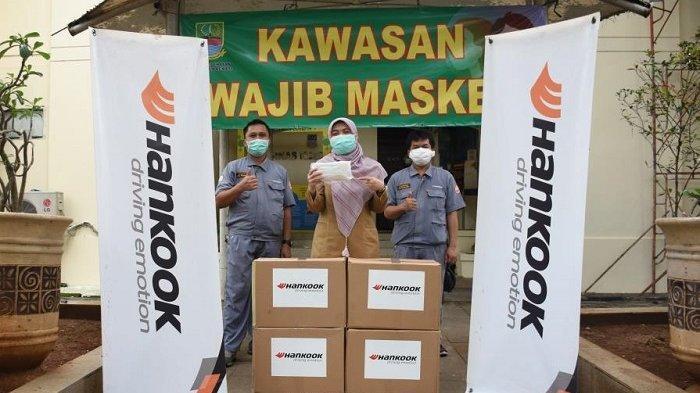 Hankook Tire Beri Donasi Masker untuk Wilayah Zona Merah Covid-19