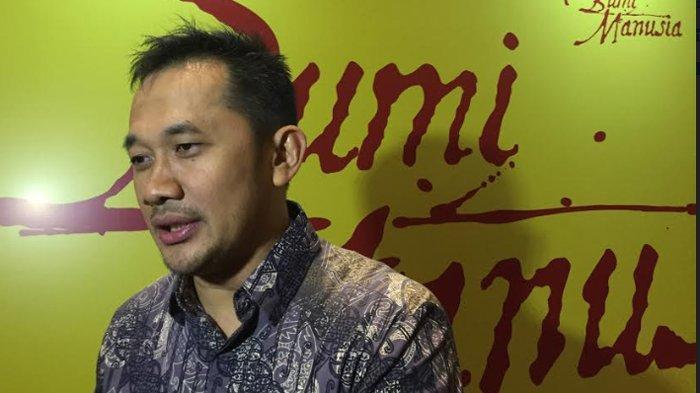 Hanung Bramantyo di XXI Epicentrum, Kuningan Jakarta Selatan, Senin (12/8/2019).