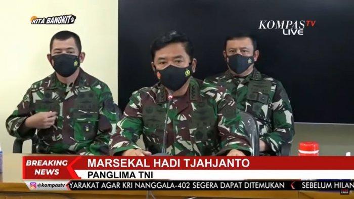 Harapan Panglima TNI: Pencarian Membuahkan Hasil dan Seluruh Personel KRI Nanggala 402 Selamat