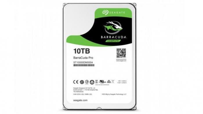 Segate Jual Hard Disk 10 Terra Byte Seharga Rp 7 Jutaan