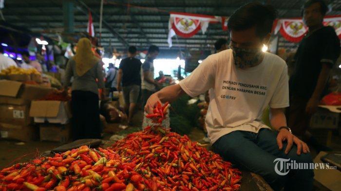 Harga Cabai Rawit Merah di Pasar Cimanggis Capai Rp 120 Ribu per Kilogram