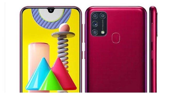 Harga dan Spefisikasi HP Samsung Galaxy M31 di Indonesia, Dijual Rp 3,6 Juta, Ada Baterai 6000 mAh.
