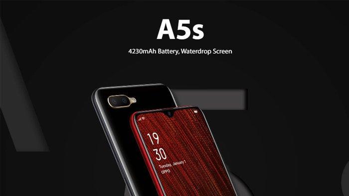 Harga dan Spesifikasi Oppo A5s di Indonesia, RAM 3GB Baterai 4230mAh Berdesain Waterdrop Screen