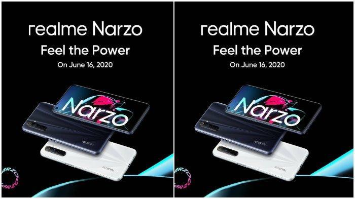 Harga dan Spesifikasi Realme Narzo, Siap Dirilis di Indonesia Selasa 16 Juni 2020