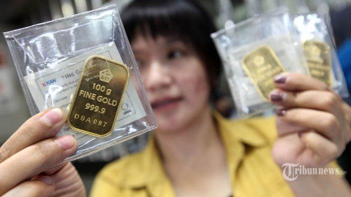 Hari Ini, Harga Emas Antam Turun Rp 1.000 Per Gram