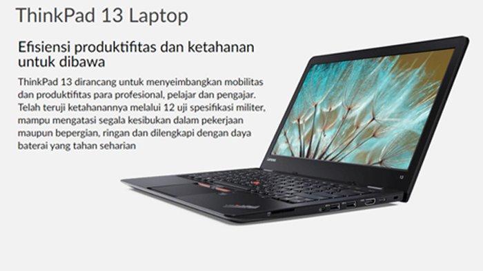 Harga Laptop Lenovo Terbaru Ada Yang Rp 3 Jutaan Cocok Untuk Pembelajaran Daring Tribunnews Com Mobile