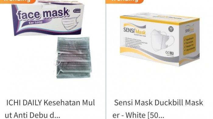 Di Beberapa Situs e-Commerce, Harga Hand Sanitizer dan Masker Meroket Tajam