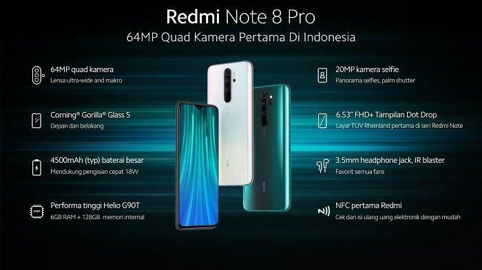 Harga Redmi Note 8 Pro terbaru