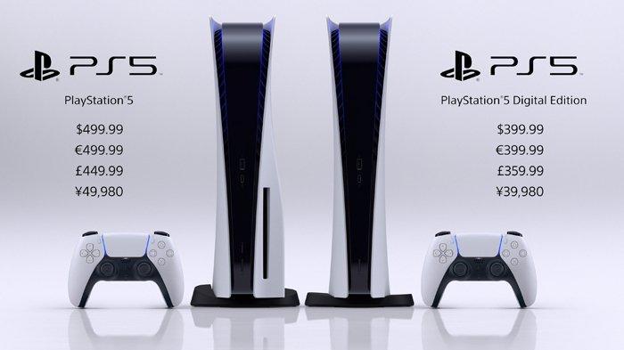 Harga Resmi PS5 dari Sony, Edisi Digital Rp 6 Jutaan dan Reguler Rp 7,4 Jutaan