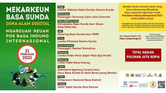 PANDI dan Pegiat Bahasa Sunda Rayakan Peringatan Hari Bahasa Ibu Internasional Lewat Virtual