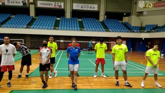 Hari ketujuh atlet bulutangkis Indonesia di Kumamoto dalam rangka training camp jelang Olimpiade Tokyo 2020.