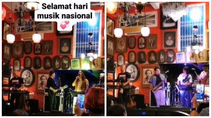 Memperingati hari musik nasional yang jatuh pada 9 Maret 2020 lalu, sejumlah musisi berkunjung ke rumah Ahmad Dhani.