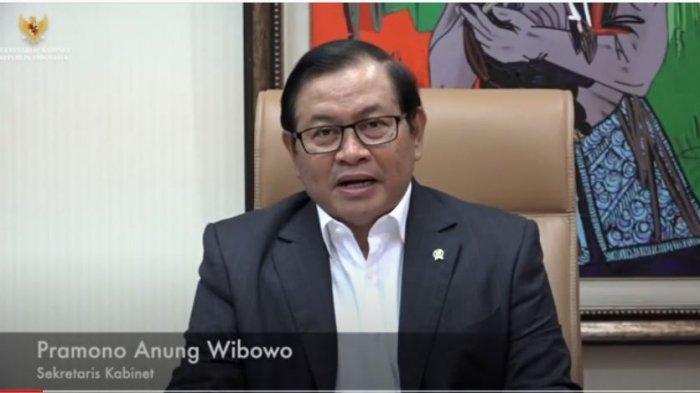 Peringati Hari Pers Nasional. Sekretaris Kabinet Pramono Agung Wibowo: Kritik, Saran,Masukan Itu seperti Jamu Menguatkan Pemerintah, Selasa (9/2/2021)