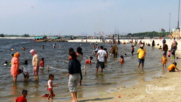 Pantai Ancol Sudah Dibuka, Sementara Hanya untuk Pengunjung Tujuan Olahraga