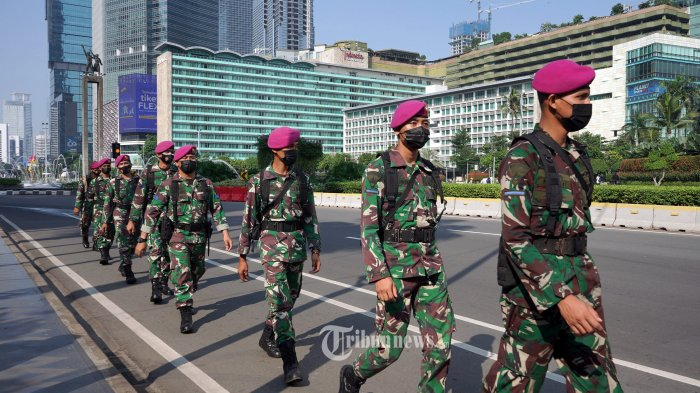 3 Peleton Personel TNI-Polri Ditambah di Setiap Titik Penyekatan PPKM Darurat di Jadetabek