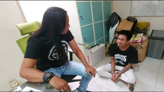 Pemuda Ancam Bunuh Nenek Gara-gara Uang Rp 5.000, Menangis saat Ditangkap: Tidak Mau Dipenjara Lagi