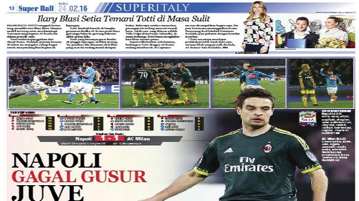 Napoli Gagal Singkirkan Juventus dari Puncak Klasemen