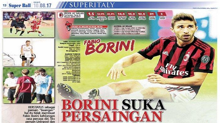 Fabio Borini Tidak Kehilangan Rasa Percaya Diri