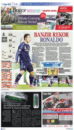 Cristiano Ronaldo Catat Rentetan Rekor Gol