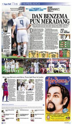 Karim Benzema Meradang Harus Tinggalkan Lapangan
