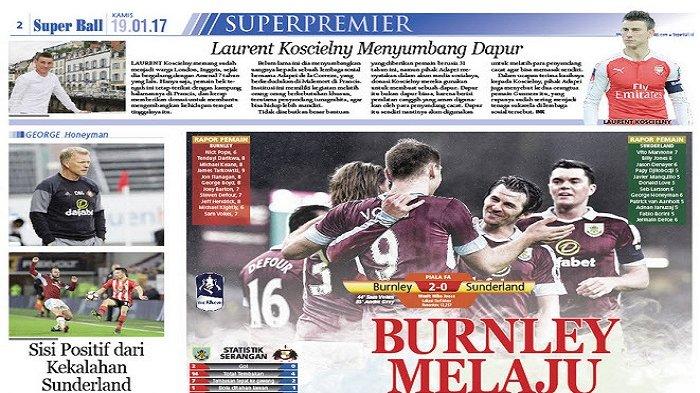 Burnley Melaju ke Putaran Keempat Piala FA