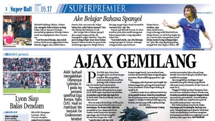 Ajax Amsterdam Yakin Lolos ke Babak Final