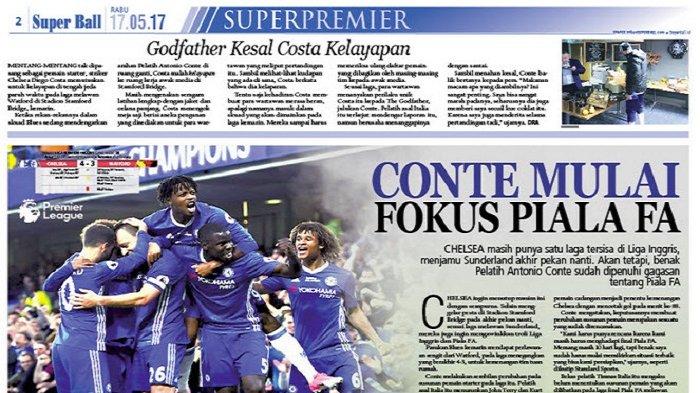 Antonio Conte Mulai Fokus Pikirkan Piala FA
