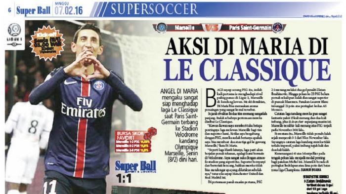Angel Di Maria Siap Hadapi Olympique Marseille