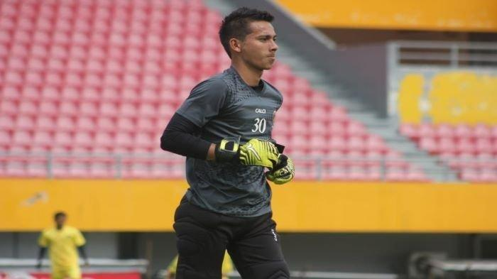 Cerita Haris Rotinsulu Kiper Sriwijaya, Ingin jadi Striker Saat Kecil dan Idolakan Fernando Torres