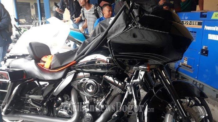 Terungkap ! Pengendara Harley yang Tabrak Nenek di Bogor Bukan Anggota HDCI,Terancam 6 Tahun Penjara