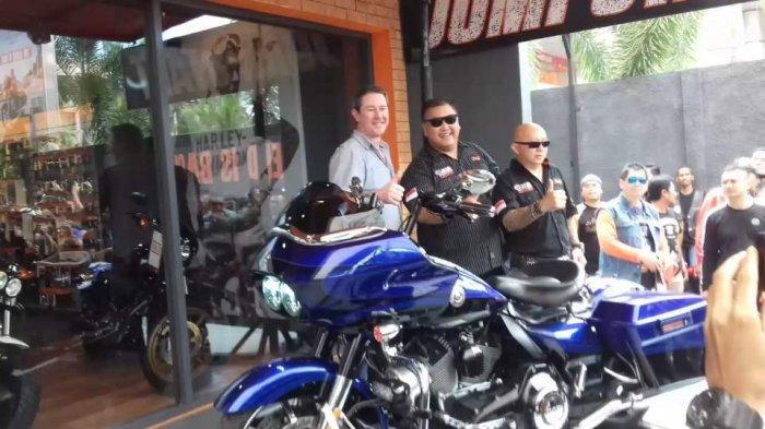 Grand Opening Dealer Harley Davidson, Anak Elang Hadir Dengan Konsep 3S