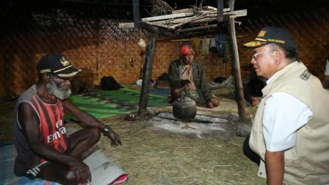 Kementerian Sosial Salurkan Bantuan Tahap Ketiga Buat Pengungsi Nduga