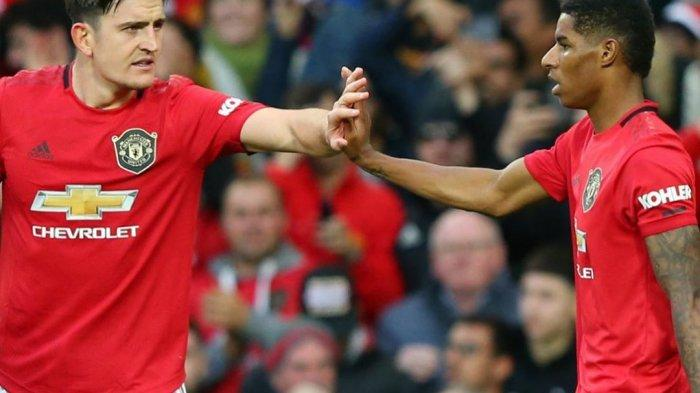 Pemain Andalan Manchester United, Harry Maguire dan Marcus Rashford