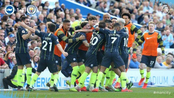 Hasil dan Klasemen Akhir Liga Inggris Manchester City Juara, Manchester United Kalah di Old Trafford