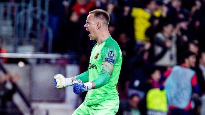 Hasil Babak Pertama Valencia vs Barcelona, Ter-Stegen Tepis Penalti Gomez, Skor Masih Imbang 0-0