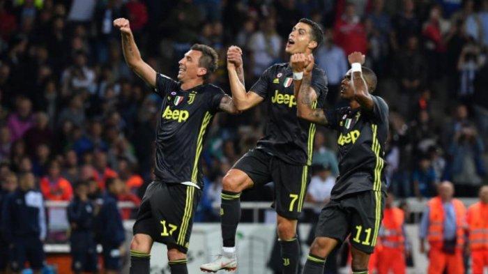 Hasil Liga Champions, Lokomotiv Moskwa vs Juventus:Gol Telat Douglas Costa Bawa Tim Tamu Menang 1-2