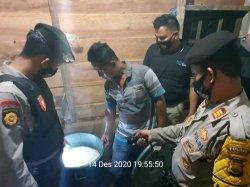 Operasi Pekat Nala 2020, Polres Bengkulu Selatan Sita 115 Liter Tuak