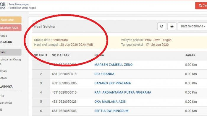 Hasil PPDB Jateng SMA/SMK: Cek Daftar Nama Peserta yang Diterima di ppdb.jatengprov.go.id.