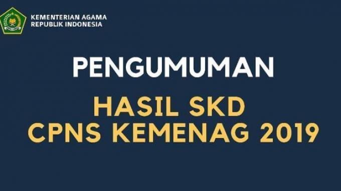 Hasil Tes SKD CPNS Kemenag 2019 Telah Dirilis di kemenag.go.id, Download PDF-nya di Sini