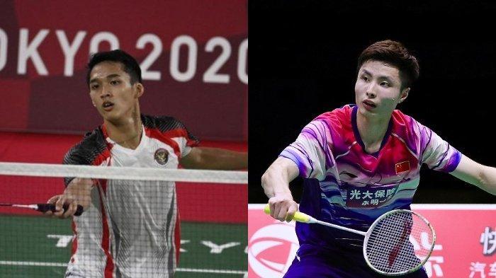 Jonatan Christi dan Shi Yu Qi.
