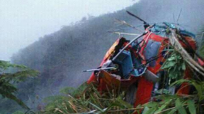 Warga Canggal Lihat Dua Penumpang Helikopter Basarnas Tewas