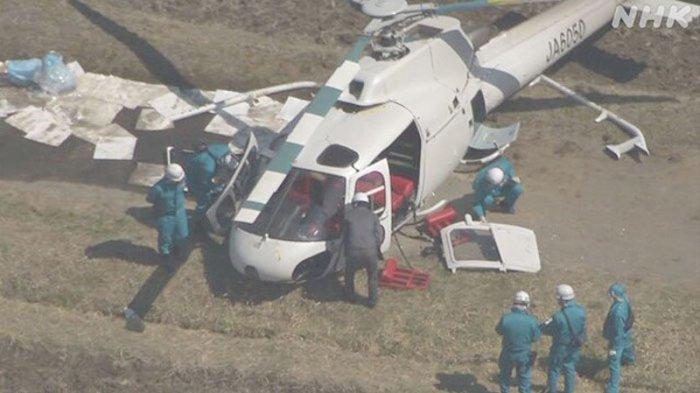 4 Luka Berat, Kecelakaan Helikopter di Jepang Langsung Diperiksa Komisi Keselamatan